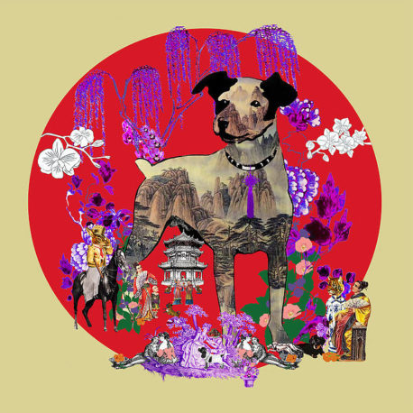 Feng Shui Art The Year of the Dog 2018 by Fiona Hollis Carney