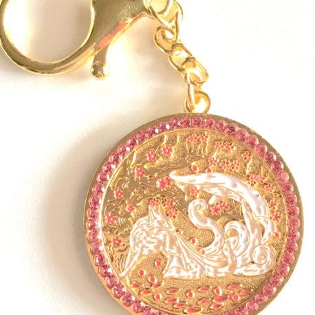 9-Tailed WHITE FOX Amulet