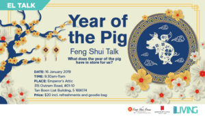 Feng Shui Talk- Year of the Pig