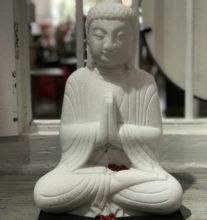 light stone buddha