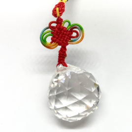 Facetted Crystal Hanging