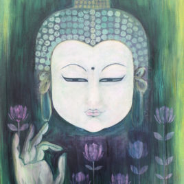 Emerald Lotus Buddha
