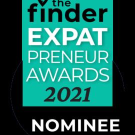The Finder Expatpreneur Award Nominee