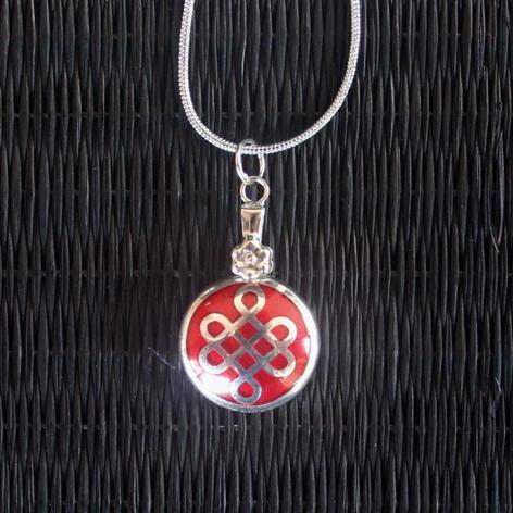 Mystic knot pendant fengshuifocus mystic knot pendant mozeypictures Image collections