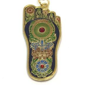 Buddha Foot Amulet