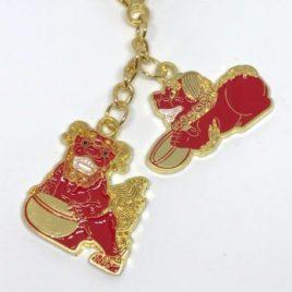 Red Tzi Chi Kau Amulet