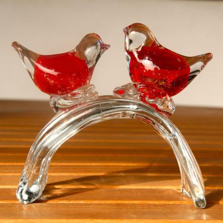 Love Birds 8cm x 8cm