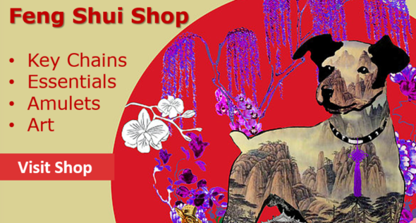 Feng Shui Year Of The Dog Shop Banner