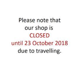 Holiday Notice 23 October