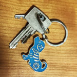 Feng Shui Dog Keychain