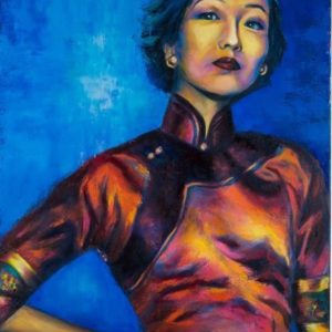 Eileen Chang – an Iconic Female Portrait