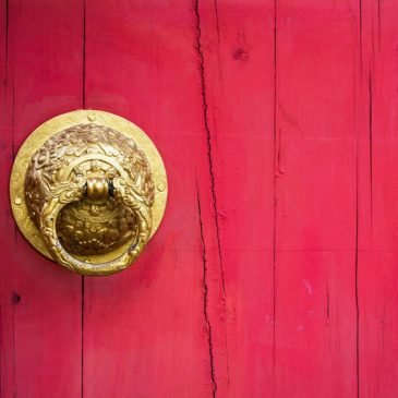 Careful which door you open at Chinese New Year