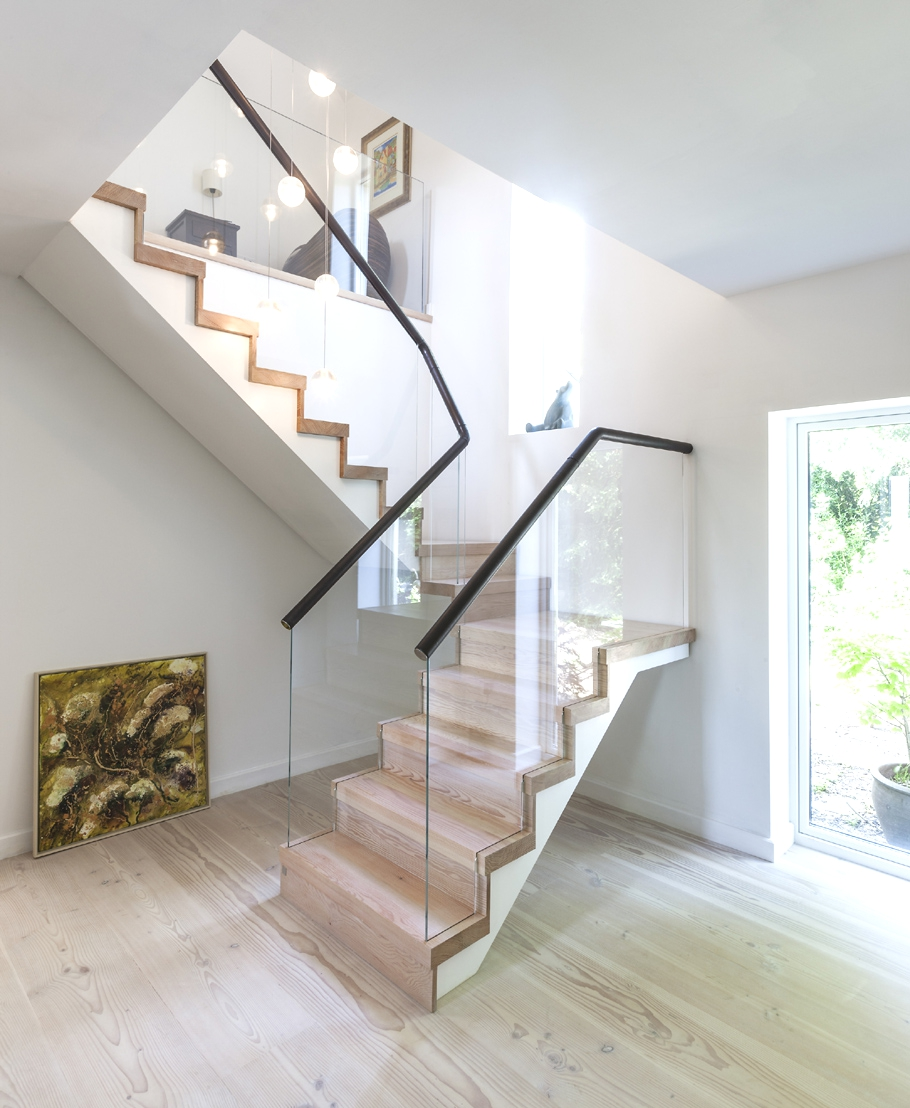 Feng Shui Tip: Closed steps are much better than open steps.