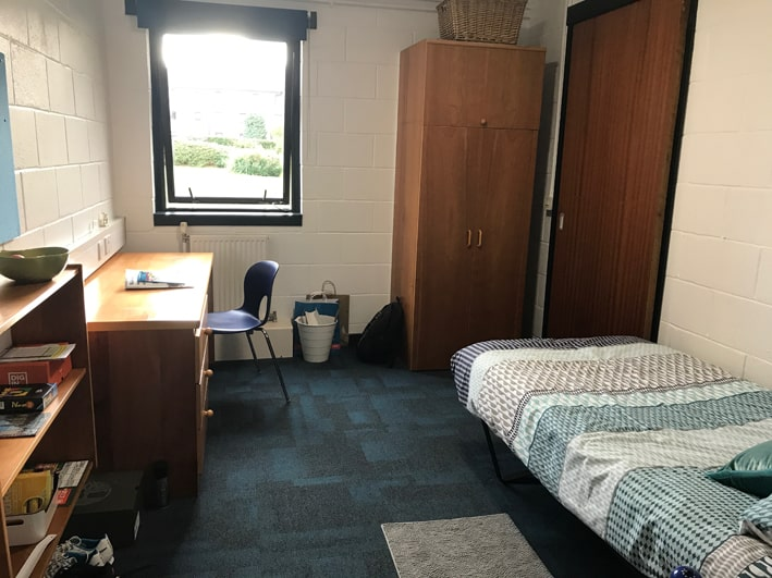Student Bedroom at University