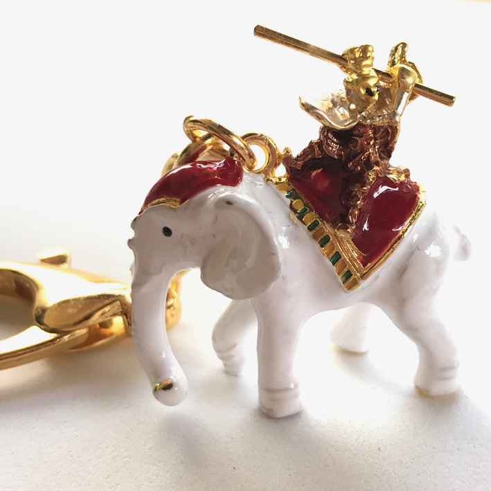 Monkey-God-w-Elephant Amulet