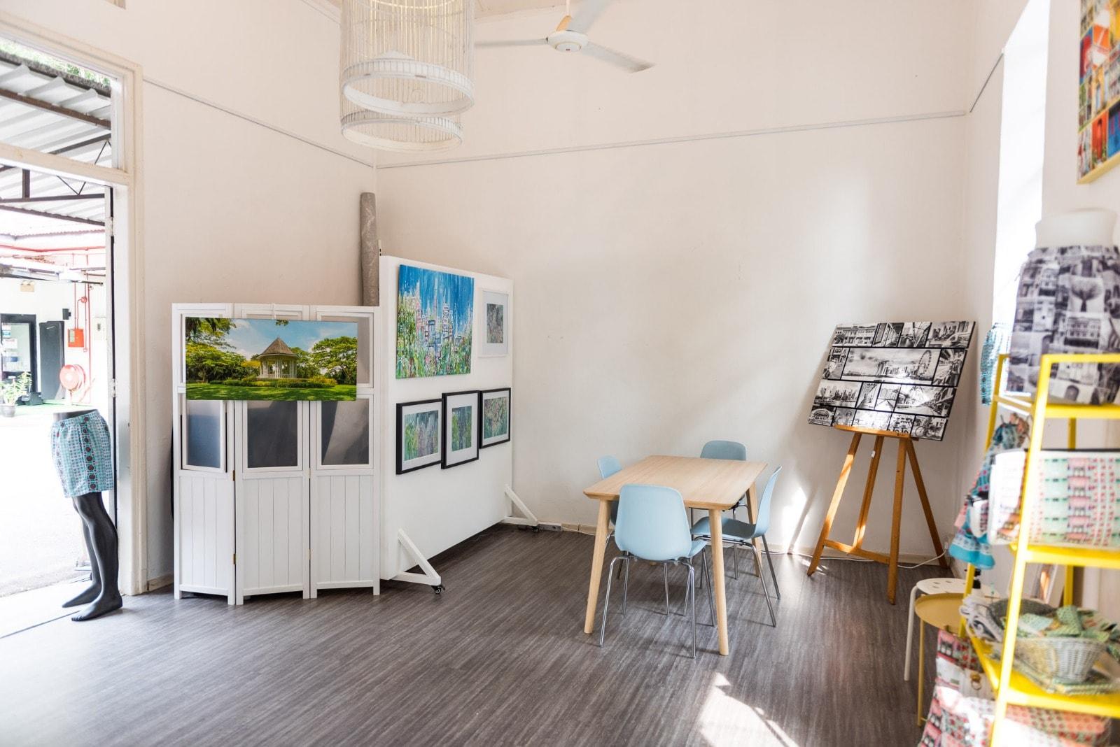 SingaPURE Arthouse WEST area & NW wall-min