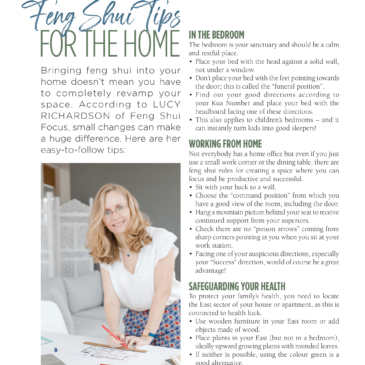 Feng Shui Tips For The Home – Expat Living City Guide