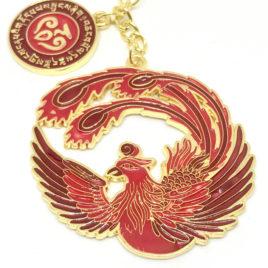 Crimson Phoenix Lunar Mansion Talisman