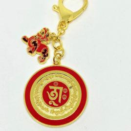 Dakini Wealth Pi Yao Amulet back